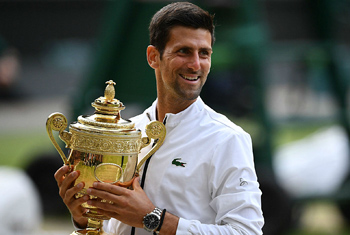 Djokovic claims fifth Wimbledon title in record-breaking final