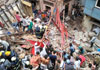 India building collapse: Dozens trapped in south Mumbai