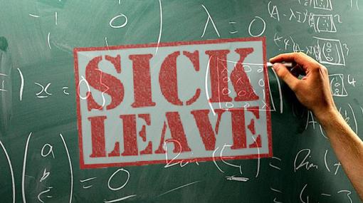 Teachers call in sick today