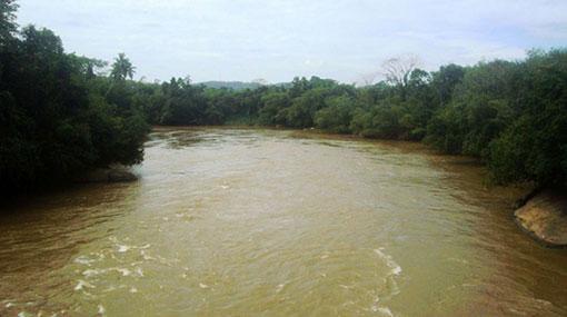 Kalu Ganga's water level rising