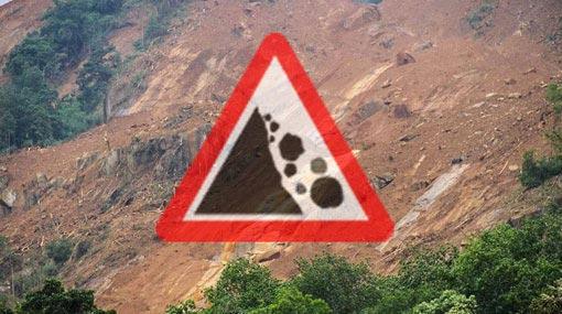 Landslide warnings issued to Ratnapura and Balangoda