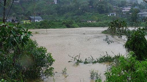 Highest rainfall reported in Dunkeld estate
