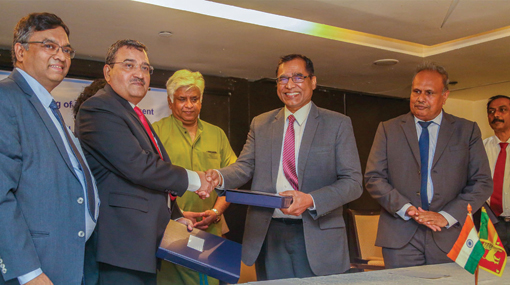 Sri Lanka inks agreement with India to upgrade railway lines