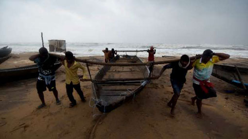 Fishermen warned not to go out to sea
