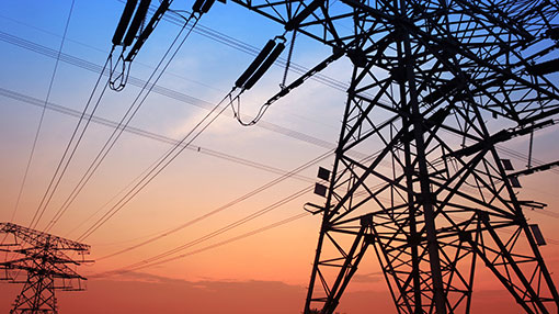 Overhead cables to transmit power from TN to Sri Lanka