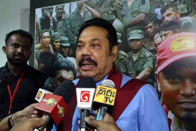 Five names are proposed for presidential candidacy - Mahinda