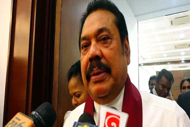 I never said Gotabaya would be presidential candidate – Mahinda