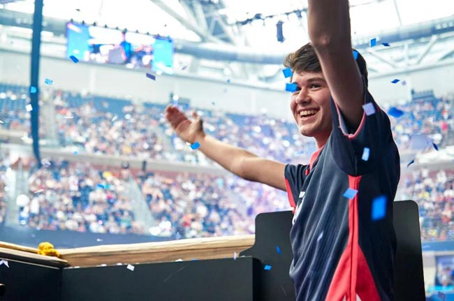 16 year old wins USD 3 mn at Fortnite World Cup