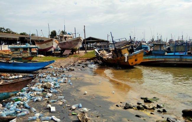 Microplastic waste fouls up beaches on Sri Lanka's southern coast