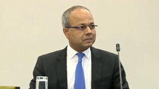 Minister Sagala Ratnayake begins testifying before PSC