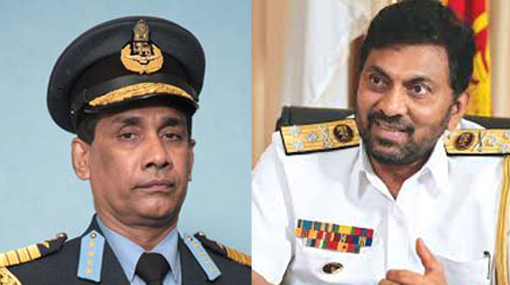 Topmost honorary ranks conferred on former Navy & Air Force commanders