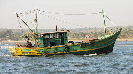 Navy detains 4 Indian fishermen near Delft island