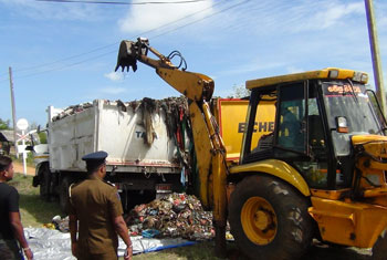Tippers carrying Colombo garbage collide…