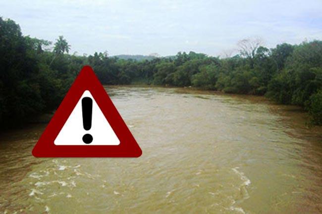Water level of Kalu Ganga rises to minor flood situation