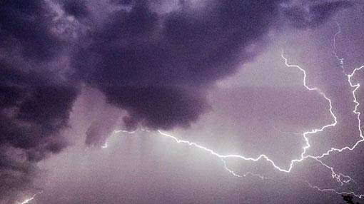 Met. Dept. issues advisory for lightning and heavy rain