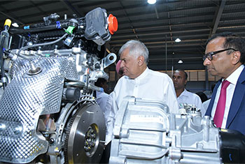 PM inaugurates Sri Lanka's first vehicle assembly plant...