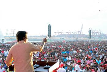 JVP's presidential hopeful...