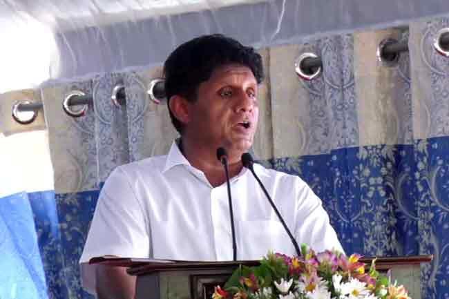 Sajith vows to throw away neo-liberalism