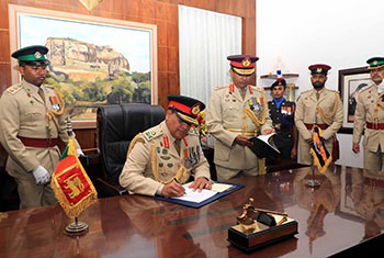 New Army Commander assumes duties...