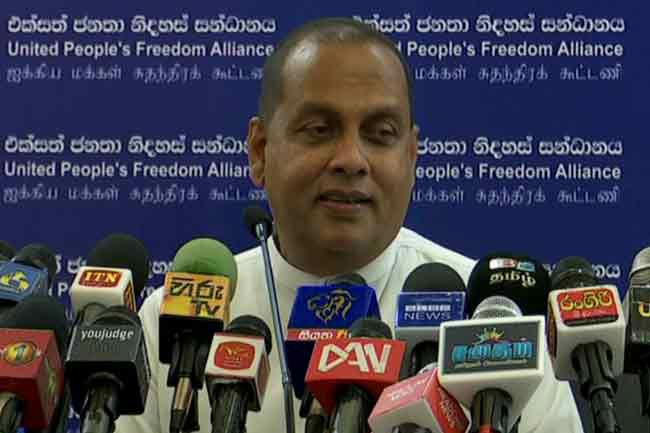 Gotabaya can gain SLFP support by joining the party - Amaraweera