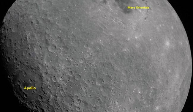 India's Chandrayaan 2 sends first moon picture