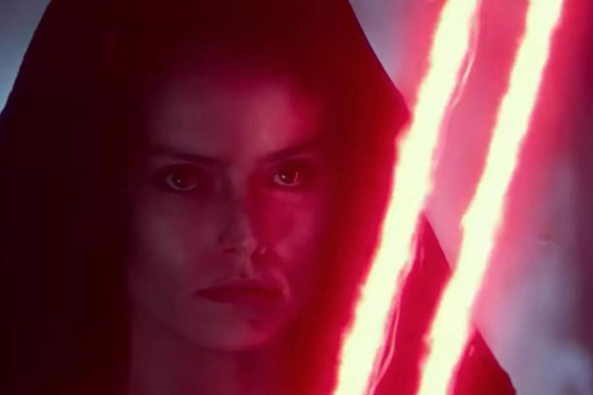 'The Rise of Skywalker' D23 trailer teases Rey going to the dark side