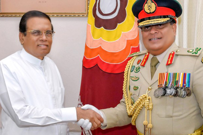 New army chief calls on President