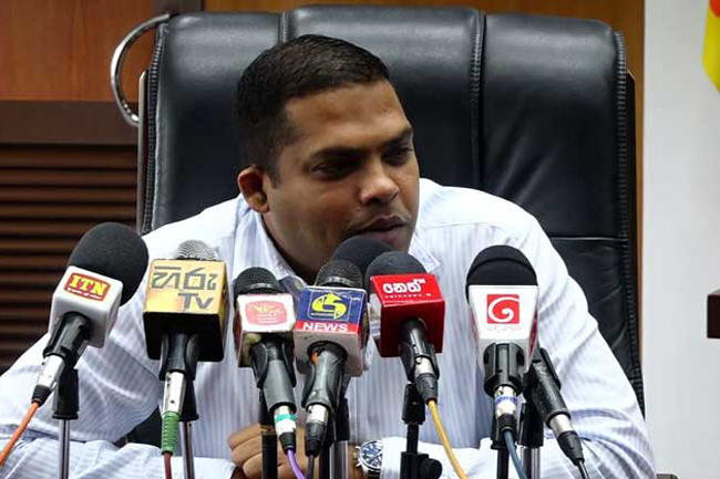 Harin says he did not ask Hathurusinghe to be removed