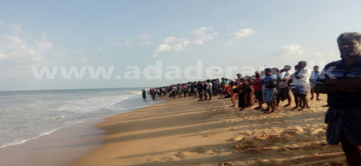 Two youths disappear while bathing in Mullaitivu sea;Two rescued