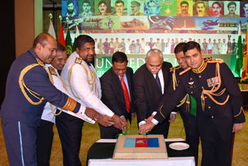 Pakistani Defence Day celebrations in Sri Lanka...