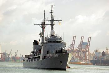Bangladeshi goodwill naval visit...