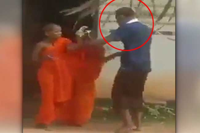 Suspect who viciously assaulted two novice monks arrested