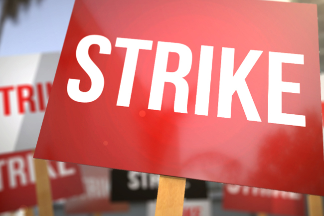 Administrative Service & university non-academic staff's strike enters day two