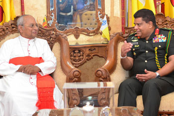 Army Chief visits Cardinal...
