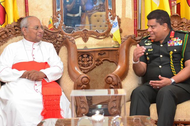 Army Chief visits Cardinal...