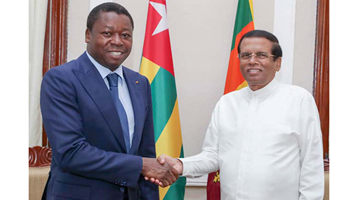 Togo & Sri Lanka keen on expanding trade relations