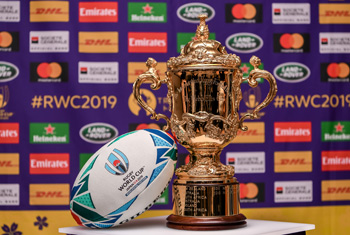 Rugby World Cup 2019 Japan: Official team welcome ceremonies begin