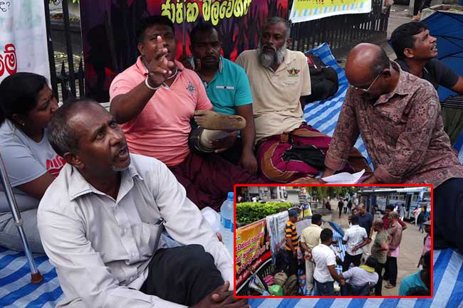 Disabled war heroes' protest continues for 5th consecutive day