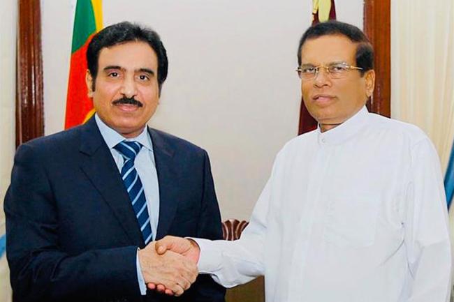 Qatar's outgoing ambassador meets President