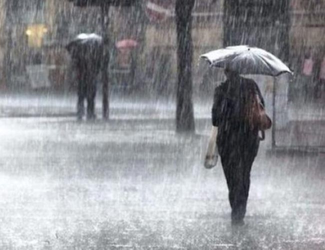 Heavy rains of about 150 mm expected