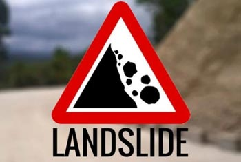 Landslide warnings issued on several districts