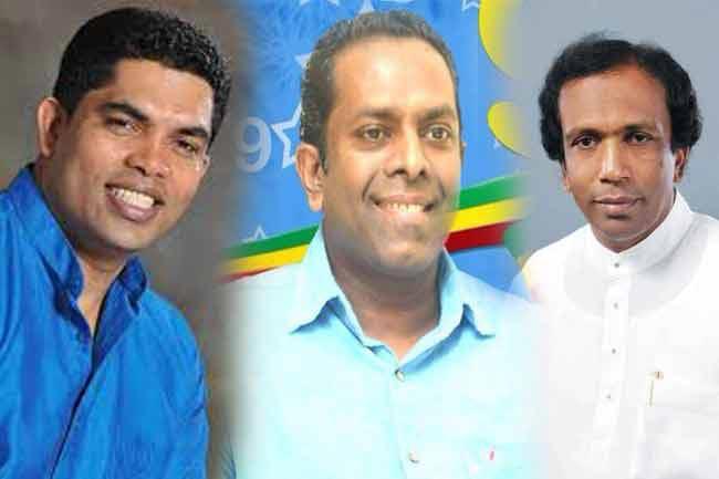 Three new parliamentarians take oath