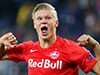 Teenager Erling Haaland scores hat-trick on Champions League debut
