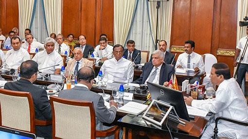 President calls urgent Cabinet meeting