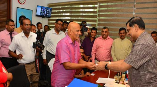 Reginald Cooray joins SLPP