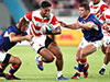 Japan open Rugby World Cup with scrappy win over Russia