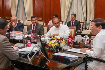 PSC members meet President...