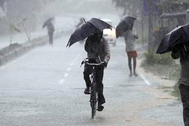 Thundershowers expected in four provinces