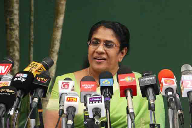 AG must make statement on ex-Bribery Commission chief's comment - Thalatha