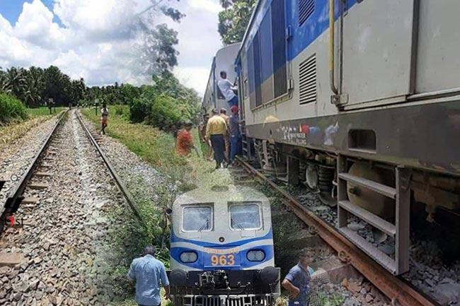 Derailment delays trains on Northern line